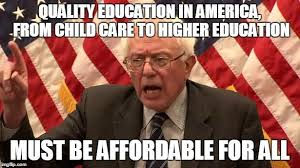 Meme Education - quality education affordable for all bernie sanders know your meme