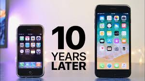 iphone first iphone 10 years later ios 1 0 vs 11 0 youtube