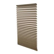 shop redi shade natural light filtering cordless paper pleated