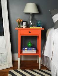 Hemnes Ikea Nightstand Best 25 Orange Bedside Tables Ideas On Pinterest Bekvam Ikea
