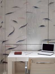 japanese u0026korean style hand painted wallpaper asian home office