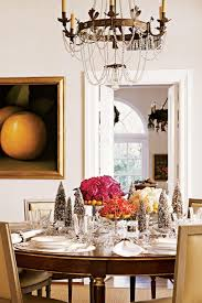 yellow dining rooms christmas in the dining room southern living