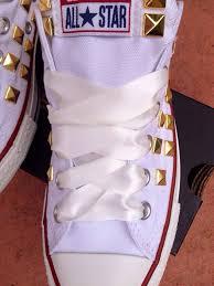 ribbon shoe laces satin ribbon shoelaces converse shoes