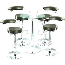 Bar Table And Stool Bar Table And Stool Set Attractive 3 Black Finish
