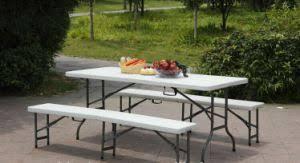 Plastic Folding Picnic Table China Garden Furniture Cheap Portable Plastic Folding Picnic Table