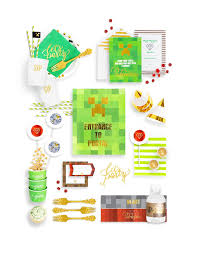 party in a box minecraft birthday party in a box minecraft party supplies online