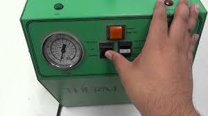 thermaflo ac recovery unit oz saver 4000 light refrigerant hvac