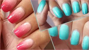 back2basic ombre nails how to youtube