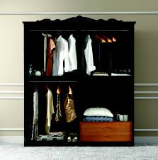 Furniture Closet Barocco Black W Silver Camelgroup Italy Classic Bedrooms