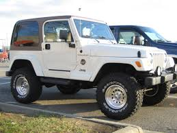 modified jeep beautiful white modified jeep tj 1 madwhips