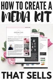 11 best media kit templates images on pinterest media kit