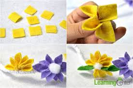 handmade flower bracelet images How to make a homemade felt flower bracelet with lace and ribbon jpg
