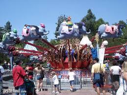 original dumbo flying elephants yesterland