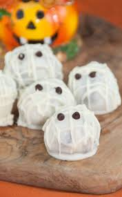 halloween mummy oreo truffles wishes and dishes