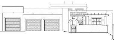 santa fe style house plans santa fe style house plan evstudio architect engineer denver