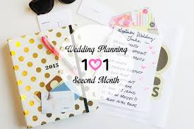 wedding planning 101 wedding planning 101 second month