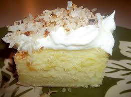 coconut topped cream cheese sheet cake recipe coconut cream