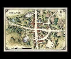 Lordran Map Red Larch Artist U0027s Print Rpg Maps Pinterest Rpg Fantasy