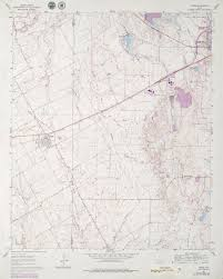 Venus Map Texas Topographic Maps Perry Castañeda Map Collection Ut