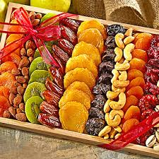 dried fruit gift gourmet dried fruit and nut gift tray