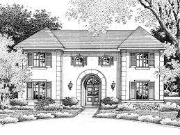 symmetrical house plans louisbourg european home plan 069d 0075 house plans and more