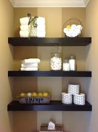 Shelves In Bathrooms Ideas Glass Shelves Bathroom Wall Bathroom Floating Shelves Wall