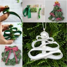 wonderful diy knitted tree with ornaments