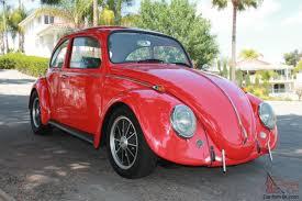 black volkswagen beetle cal look vw beetle california black plate red exterior black