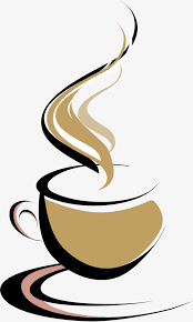 hand painted brown coffee cup hand brown coffee cup png image