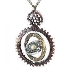 copernicus ordium coelestium mechanicum necklace steampunk time