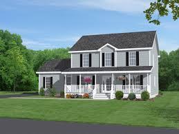 rancher house car garage front porch home building plans 60857