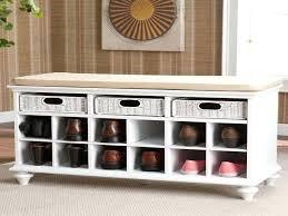 small wooden shoe rack bench image of ikea shoe storage design
