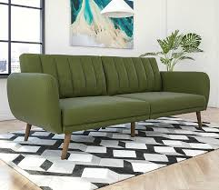 Green Sofa Bed Twelve Great Looking Sofa Beds That Won U0027t Cramp Your Style