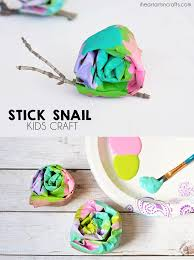 stick snail craft for kids i heart arts n crafts