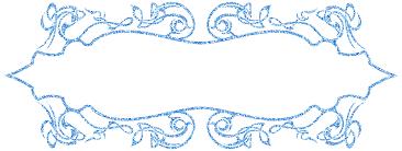 Decorative Frame Png Blue Decorative Frame Free Image