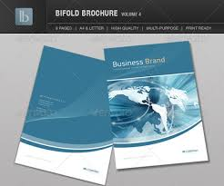2 fold brochure template 7 high quality bi fold brochure templates wakaboom