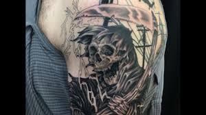 grim reaper lineman tattoo in progress by hunterurscum youtube