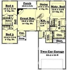 1600 Square Foot Floor Plans 1600 Heated Sq Ft House Plans Open Floor Plan Floor 1600