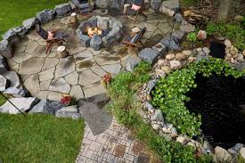 award winning backyard waterfall and patio southview design