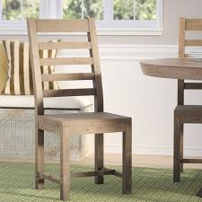 Reclaimed Dining Chairs Lark Manor Gertrude Reclaimed Pine Dining Chair Reviews Wayfair