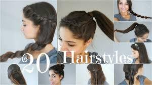 Hochsteckfrisurenen Selber Machen Einfach Schnell by 20 5 Minuten Frisuren Schnell Einfach Für Schule Alltag
