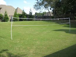 wireless pvc badminton volleyball net 6 steps with pictures