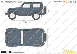 jeep van 2015 the blueprints com vector drawing jeep wrangler 3 door