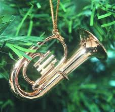 treasures co baritone horn ornament