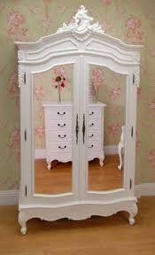 Mirror Armoire Wardrobe White Wardrobe Armoire French Armoire Wardrobe Furniture With