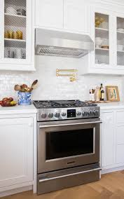 Country Kitchens With White Cabinets by Emily Henderson Full Kitchen Reveal Waverly Frigidaire 18 Tile Is