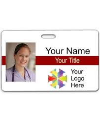 photo id templates add your text u0026 logo name tag wizard