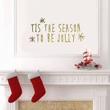 tis the season wall sticker by oakdene designs tis the season wall sticker