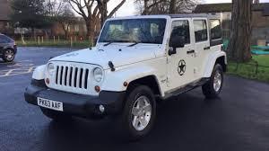turbo jeep wrangler white jeep wrangler 2 8 crd turbo diesel sahara unlimited 4x4 4wd