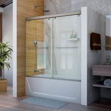 Bath Shower Doors Glass Frameless Bathroom Shower Units Tub Shower Doors Glass Frameless Glass